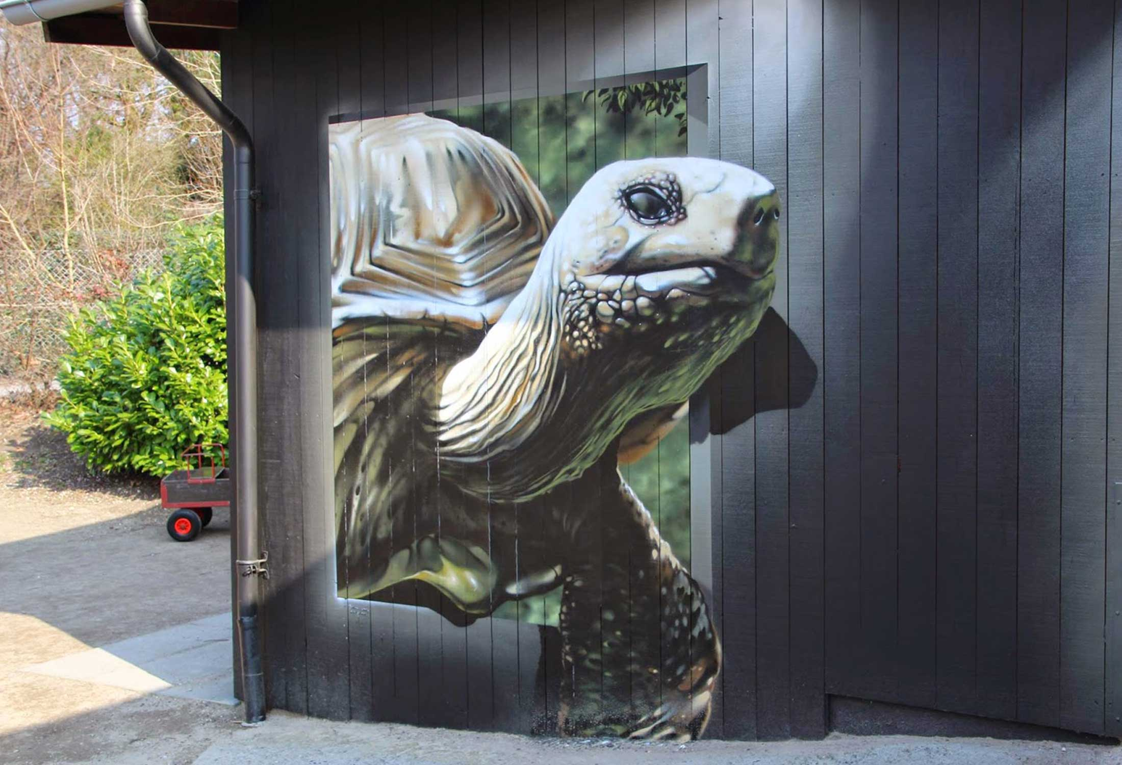Odense Zoo Murals