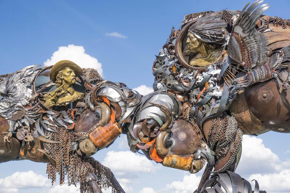 Public Art Buffalo Last Stand Lopez