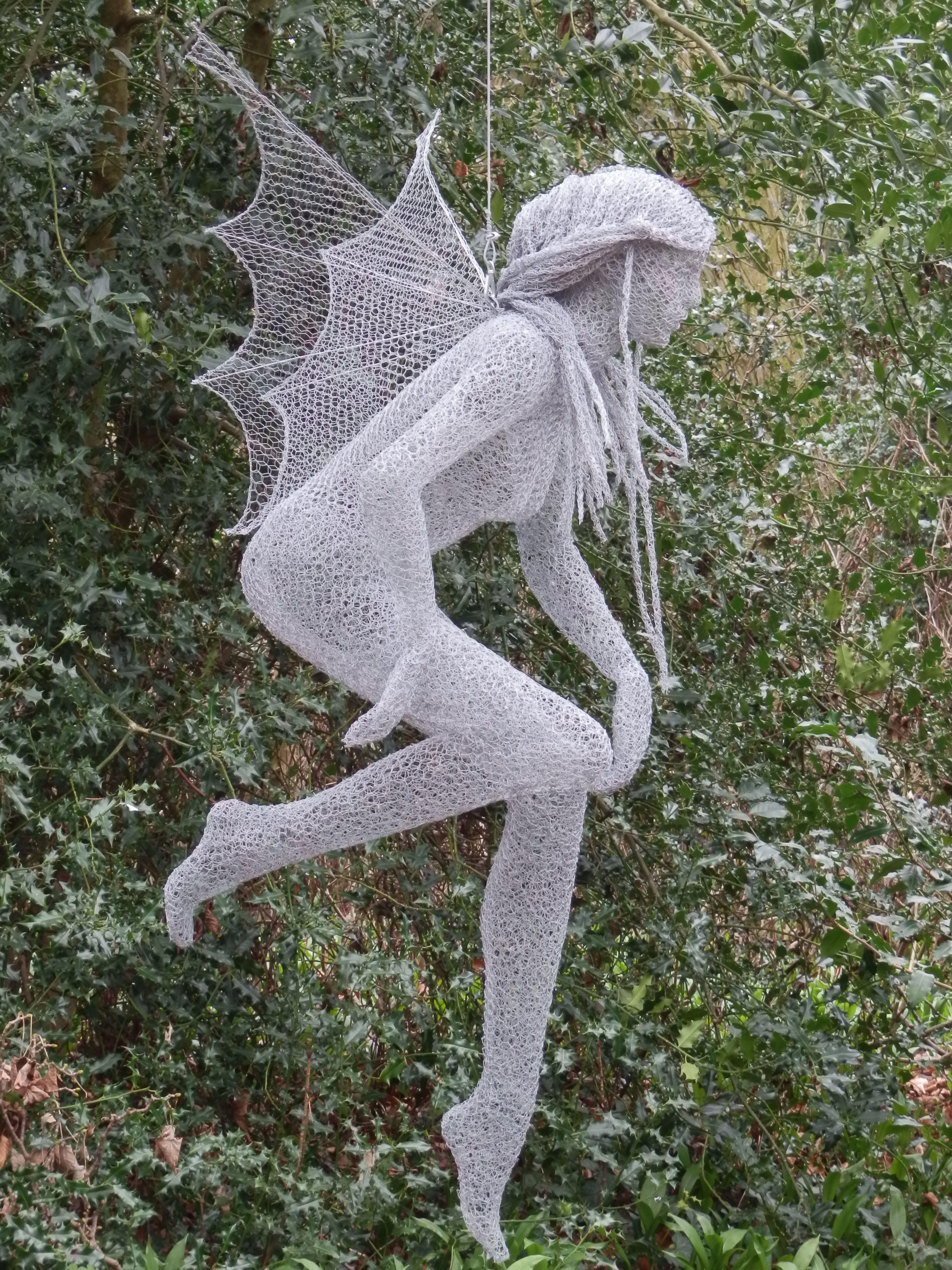 Wire Mesh Sculpture Woodland Spirit