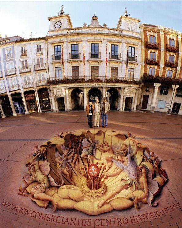 Perspective Tricks Renaissance Pavement Art