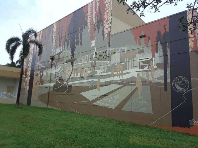 City Mural Example in Tamarac Florida