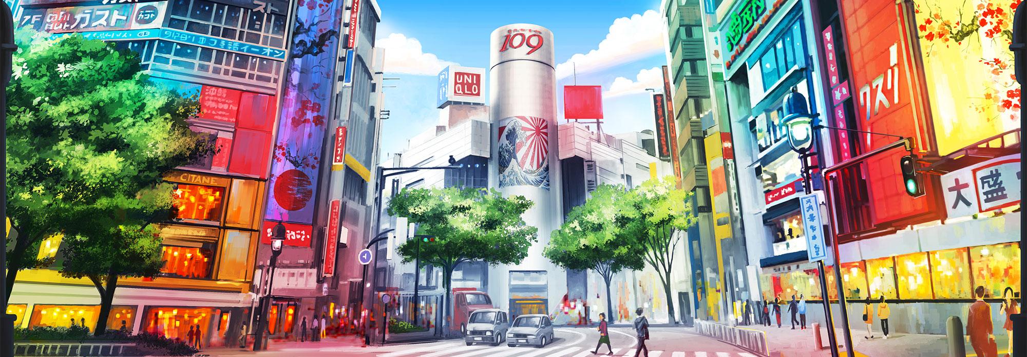 Cityscapes-Tokyo-Vito Di Bari